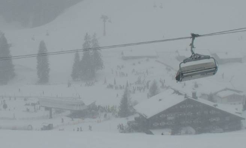 Lofer, Austria - Weather to ski - Today in the Alps, 15 March 2016