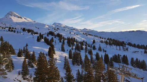 Flaine, France - Weather to ski - Snow report, 15 March 2016