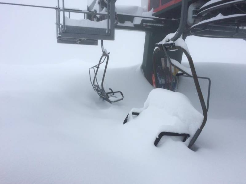 Prato Nevoso, Italy - Weather to ski - Today in the Alps, 17 March 2016