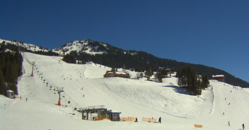 Damüls, Austria - Weather to ski - Today in the Alps, 19 March 2016