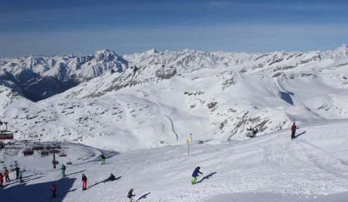 Mölltal, Austria - Weather to ski - Today in the Alps, 27 March 2016
