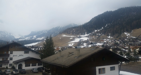 Corvara, Italy - Weather to ski - Today in the Alps, 28 March 2016