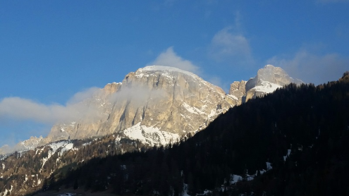 Corvara, Italy - Weather to ski - Today in the Alps, 29 March 2016