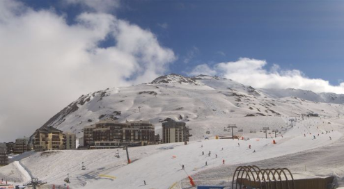Tignes, France - Weather to ski - Today in the Alps, 7 April 2016