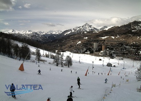 Sestriere, Italy - Weather to ski - Snow report, 7 April 2016