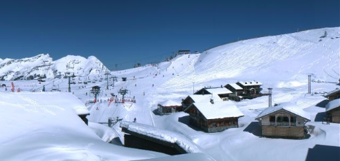 Avoriaz, France - Weather to ski - Today in the Alps, 19 April 2016