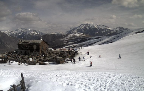 Livigno, Italy - Weather to ski - Today in the Alps, 22 April 2016