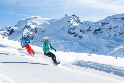 Engelberg, Switzerland - Best places to ski in the Alps in May