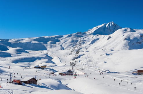 Arc 2000, France - Weather to ski - Our blog: How good is Les Arcs' snow record?
