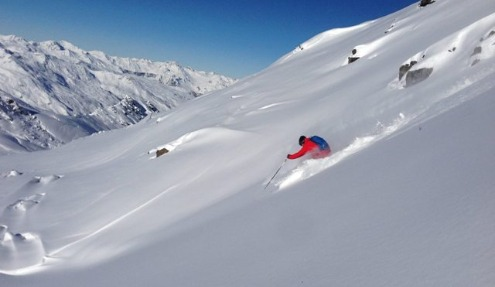 Val Thorens, France - Weather to ski - Complete guide to early season snow conditions in the Alps
