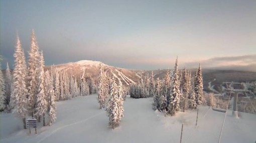 Sun Peaks, Canada - who got the most snow N.America 2012-13