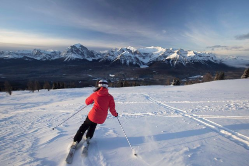 Lake Louise, Canada - Weather to ski - Who got the most snow in North America in 2015-16?