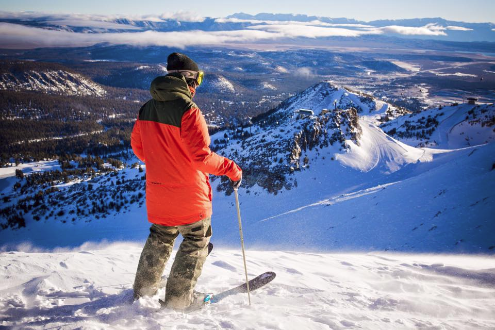 Mammoth, California, USA - Weather to ski - Who got the most snow in North America in 2015-16?