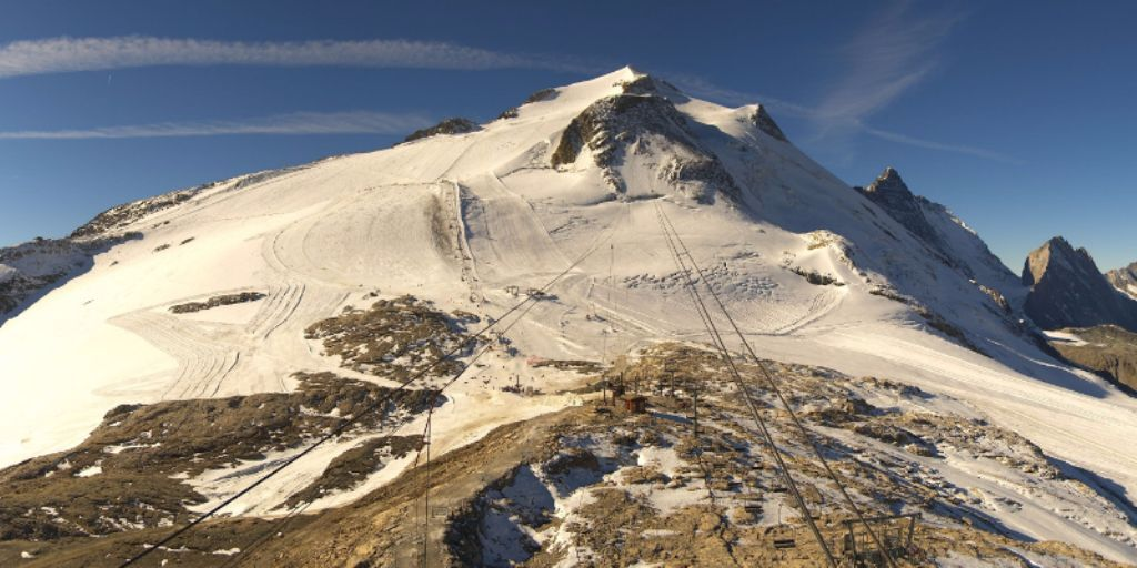 Tignes, France – Weather to ski – Today in the Alps, 8 October 2016