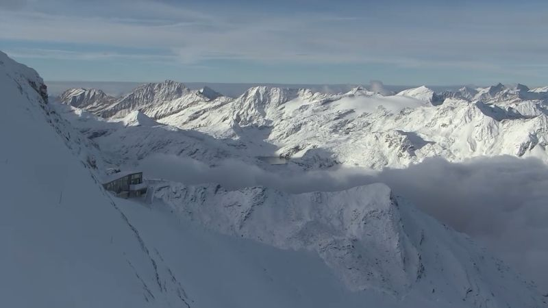 Kitzsteinhorn, Austria – Weather to ski – Today in the Alps, 9 October 2016