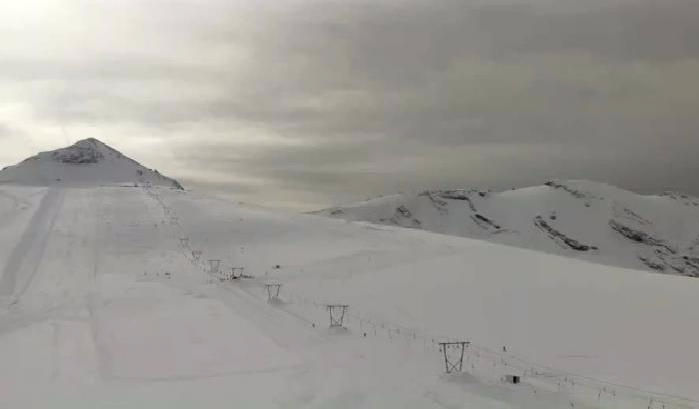 Passo Stelvio, Italy – Weather to ski – Today in the Alps, 17 October 2016