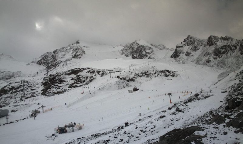 Pitztal, Austria – Weather to ski – Today in the Alps, 18 October 2016