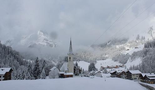 Schröcken, Austria – Weather to ski – Today in the Alps, 7 November 2016