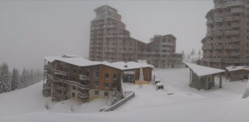 Avoriaz, France – Weather to ski – Today in the Alps, 10 November 2016