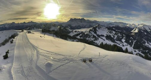 Châtel, France – Weather to ski – Today in the Alps, 16 November 2016