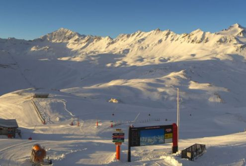 Val d'Isère, France – Weather to ski – Today in the Alps, 26 November 2016
