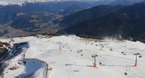 Kronplatz, Italy – Weather to ski – Today in the Alps, 4 December 2016