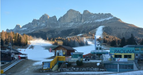 Carezza, Italy – Weather to ski – Today in the Alps, 5 December 2016