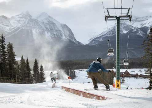Plenty of early snow in Lake Louise, Canada, 28 November 2019 – Weather to ski – Snow report, 28 November 2019