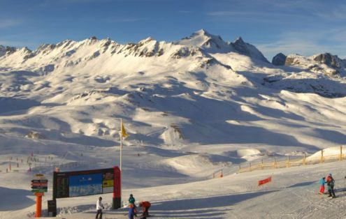Val d'Isère, France – Weather to ski – Today in the Alps, 7 December 2016