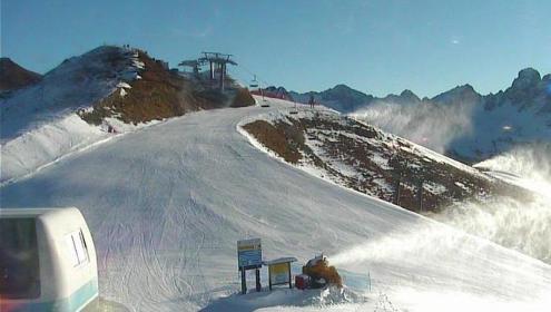 Col de Valvacin, Italy – Weather to ski – Today in the Alps, 7 December 2016