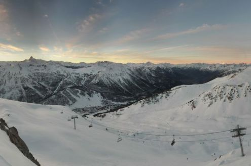 Montgenèvre, France – Weather to ski – Today in the Alps, 8 December 2016