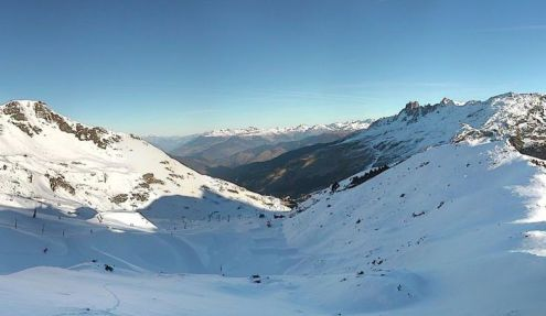 Méribel, France – Weather to ski – Today in the Alps, 10 December 2016