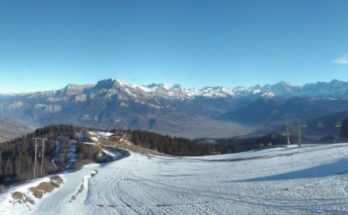 Megève/Combloux, France – Weather to ski – Today in the Alps, 12 December 2016