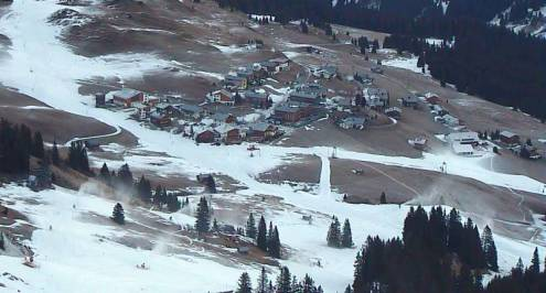 Lech, Austria – Weather to ski – Today in the Alps, 13 December 2016