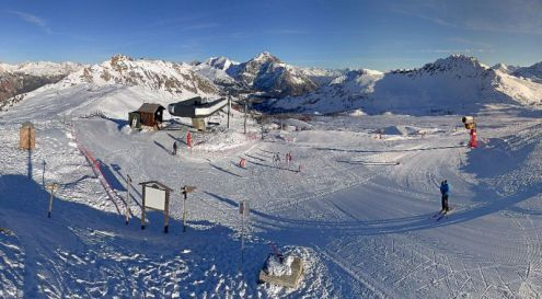 Montgenèvre, France – Weather to ski – Today in the Alps, 15 December 2016