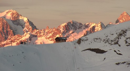 Montgenèvre, France – Weather to ski – Today in the Alps, 16 December 2016