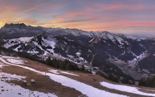 Châtel, France – Weather to ski – Today in the Alps, 16 December 2016