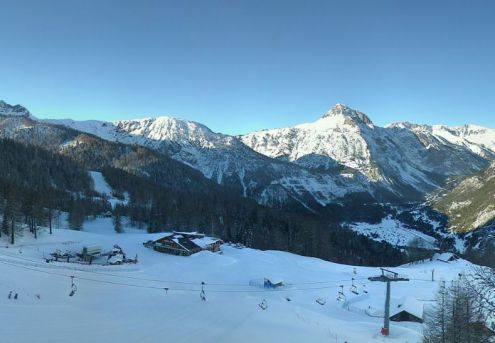Bardonecchia, Italy – Weather to ski – Today in the Alps, 22 December 2016
