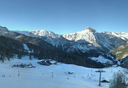 Bardonecchia, Italy – Weather to ski – Today in the Alps, 22 December 2016