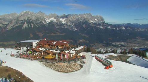Ellmau, Austria – Weather to ski – Today in the Alps, 23 December 2016
