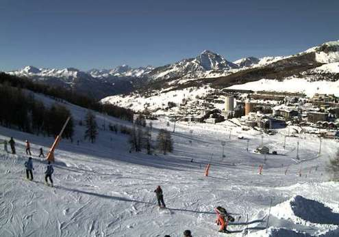 Sestriere, Italy – Weather to ski – Today in the Alps, 23 December 2016