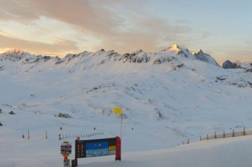 Val d'Isère, France – Weather to ski – Today in the Alps, 24 December 2016