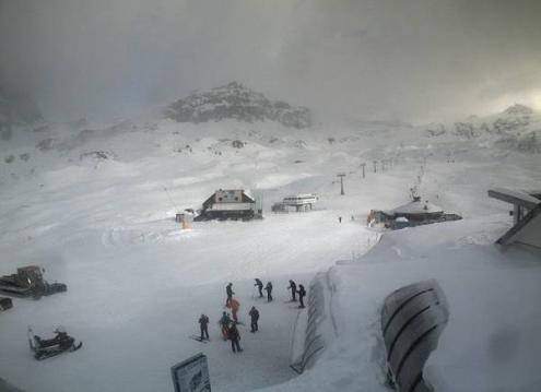 Cervinia, Italy – Weather to ski – Today in the Alps, 25 December 2016