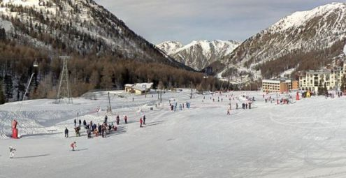 Isola 2000, France – Weather to ski – Today in the Alps, 26 December 2016