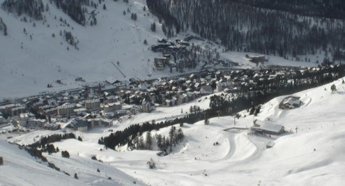 Montgenèvre, France – Weather to ski – Today in the Alps, 26 December 2016