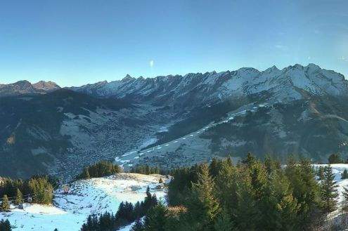La Clusaz, France – Weather to ski – Today in the Alps, 27 December 2016