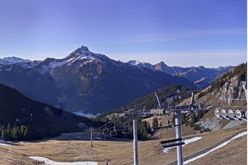 La Chapelle d'Abondance, France – Weather to ski – Today in the Alps, 28 December 2016