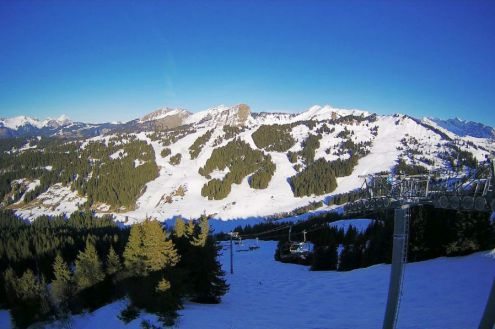 Les Gets, France – Weather to ski – Snow forecast, 24 February 2020