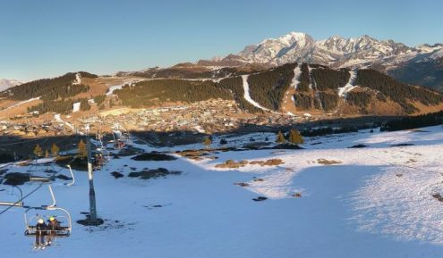 Les Saisies, France – Weather to ski – Today in the Alps, 29 December 2016