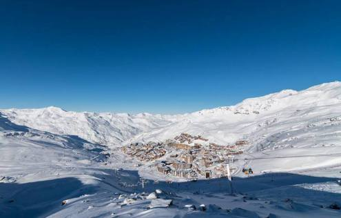 Val Thorens, France – Weather to ski – Today in the Alps, 16 January 2017